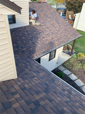 Home Roof Installation